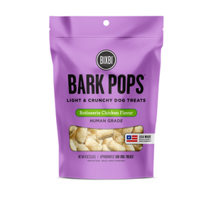 Bixbi Bark Pops Crunchy Dog Treats