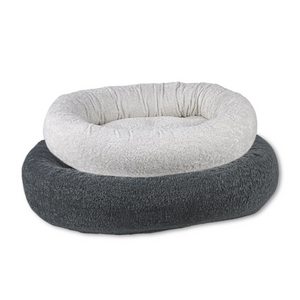 Faux Sheepskin Donut Dog Bed