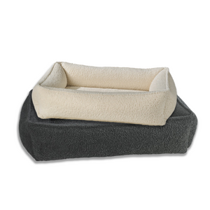 Faux Sheepskin Urban Lounger Dog Bed