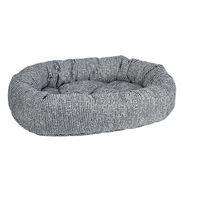 Chenille Donut Dog Bed