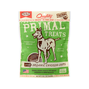Primal Jerky Chips Dog Treats