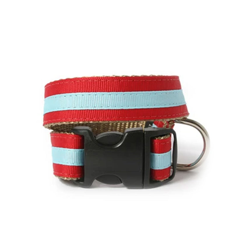 Red and Blue Alex Dog Collar