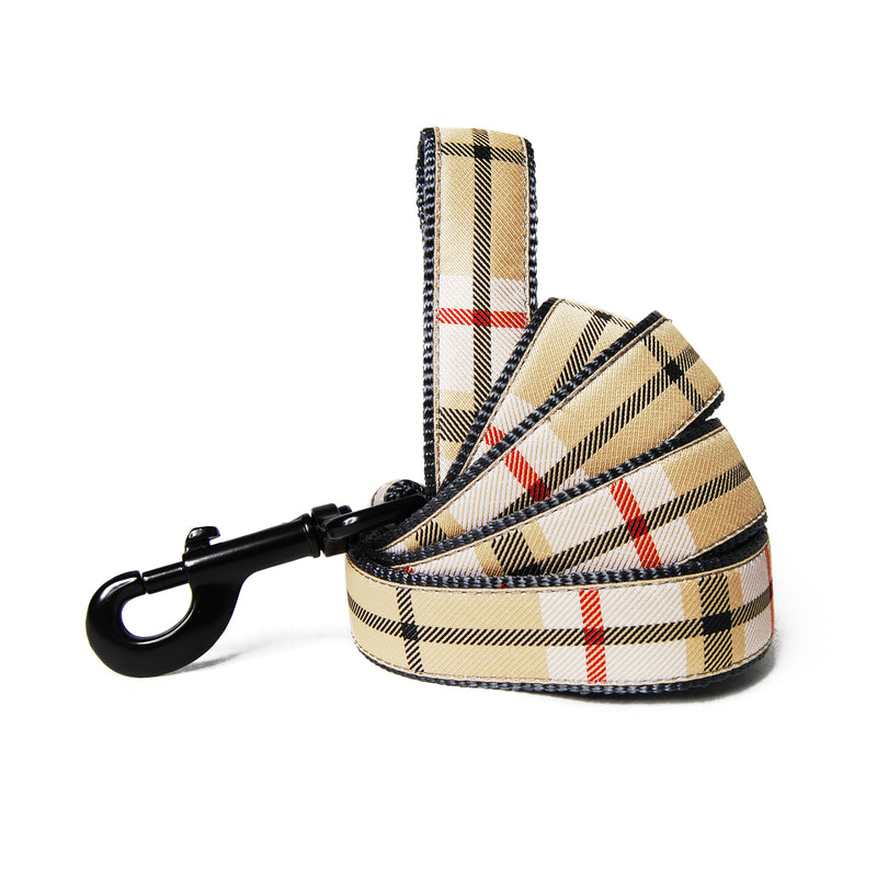 Scotty Plaid Dog Leash