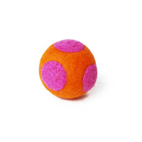 Polka Dot Boiled Wool Ball Dog Toy