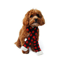 Buffalo Check Dog Scarf - FINAL SALE