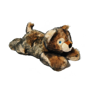 Plush Wolf Dog Toy