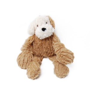 Plush Knotties Lulu Mutt Dog Toy