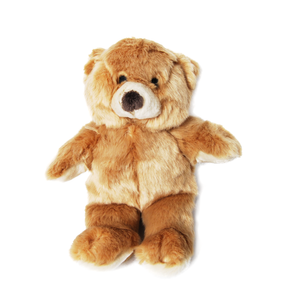 Plush Honey Bear Dog Toy