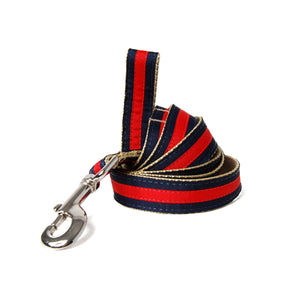 Navy and Red Jake Dog Leash