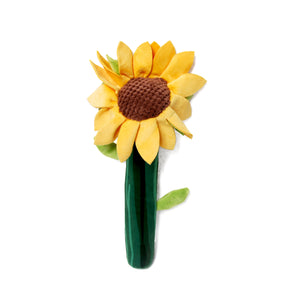 Sunflower Bendie Dog Toy