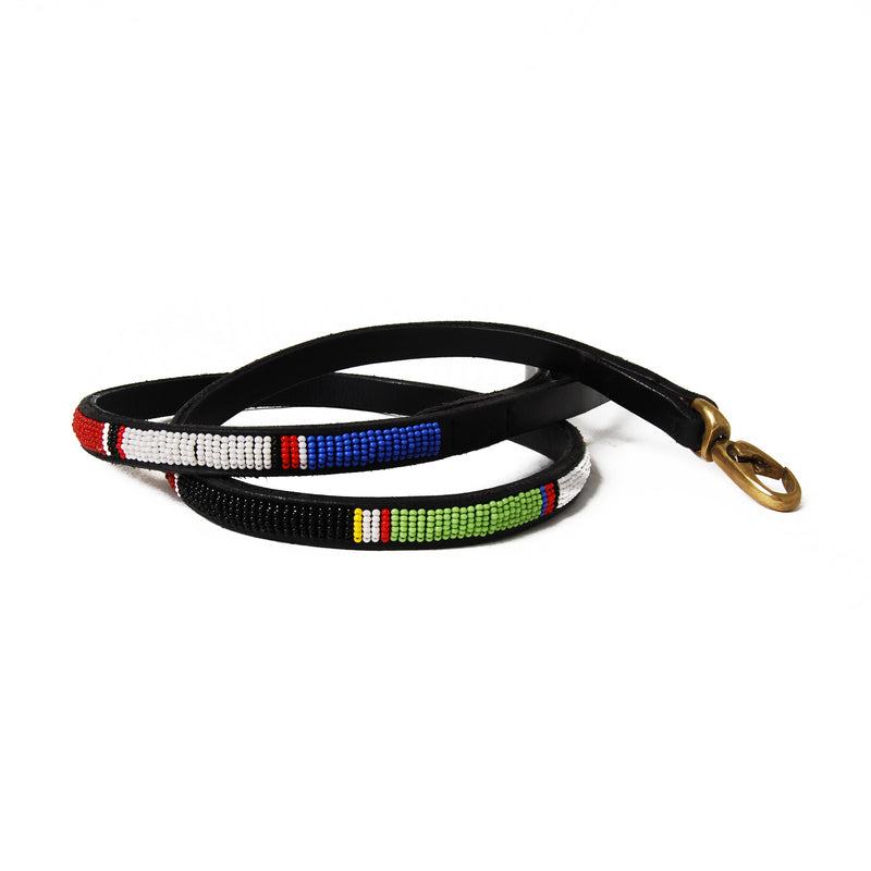 Circle of Life Beaded Dog Leash