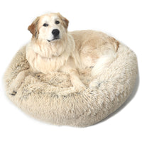Original Calming Shag Donut Cuddler™ Pet Bed