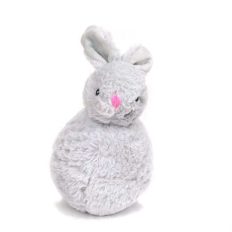Plush Bunny with Squeaker Ball Dog Toy