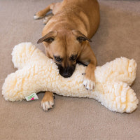Sherpa Luxx Jumbo Bone Dog Toy