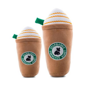 Starbarks Frenchie Roast Frappuccino Dog Toy