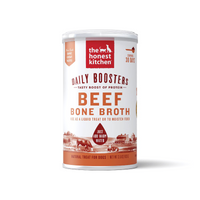 Honest Kitchen Daily Boosters Instant Beef & Turmeric Bone Broth Dog Supplement - Muttropolis