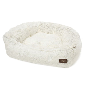 Arctic Shag Napper Dog Bed