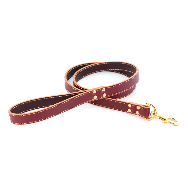Lake Country Leather Dog Leash