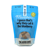 Blueberry Mutt Munchers Dog Treats