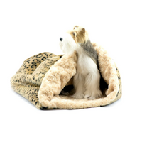 Camel Lynx Cuddle Cup Dog Bed