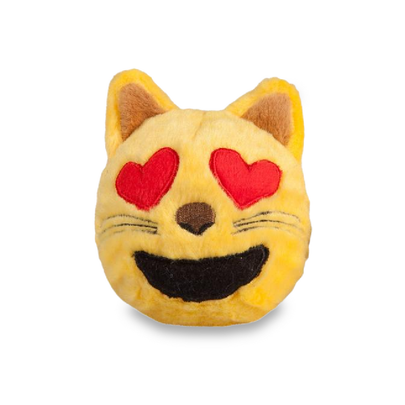 Cat Emoji Plush faball® Dog Toy