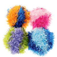 Funky Fur Ball Dog Toy