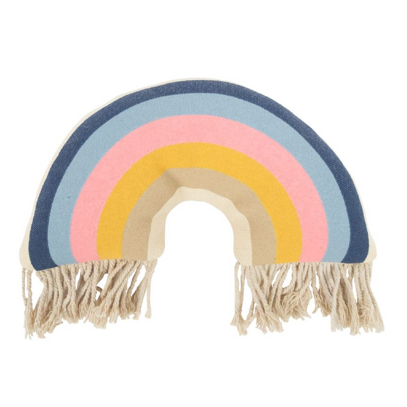 Rainbow Fringe Plush Toy