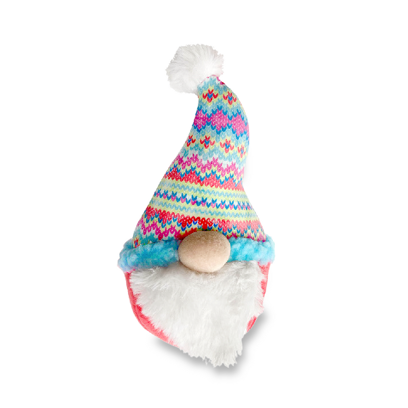 Winter Gnome Dog Toy