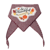 So Thankful Pet Bandana - FINAL SALE