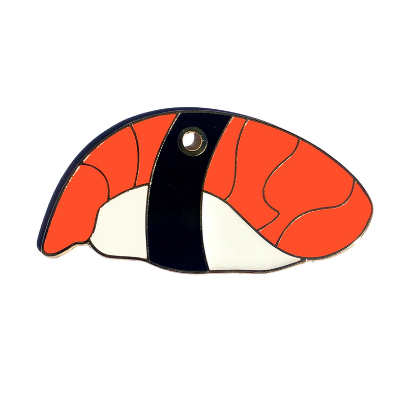 Sushi Engraved Pet Tag