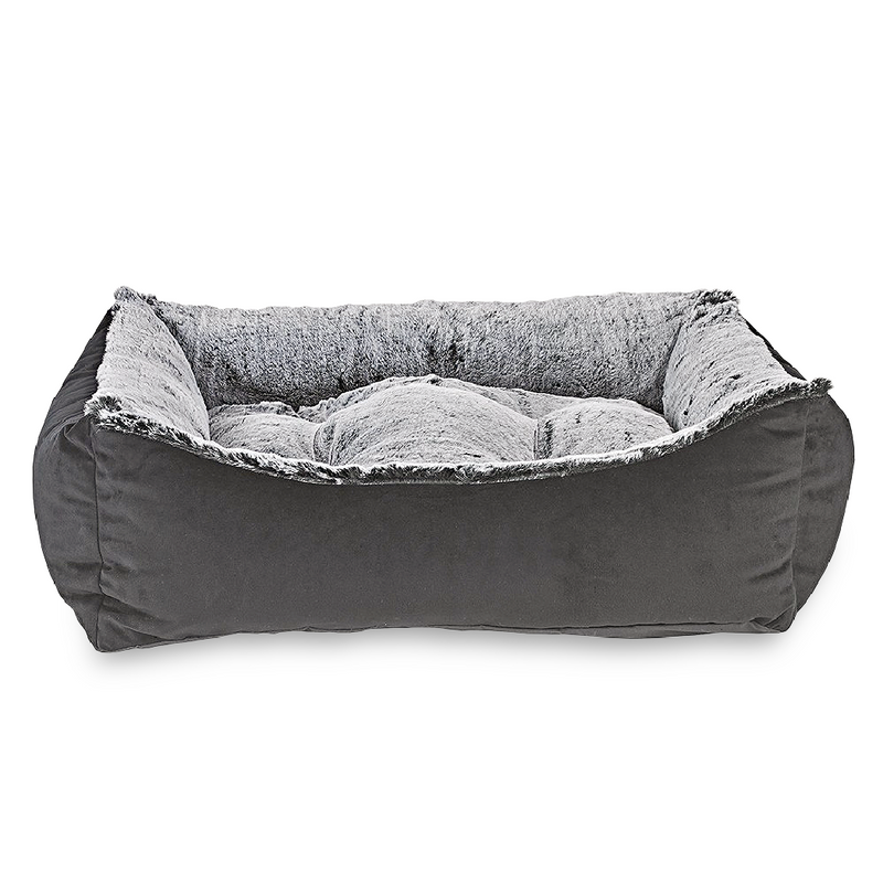 Royal Sterling Faux Fur Scoop Bed