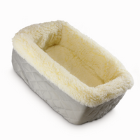 Sherpa Lined Console Dog Carseat