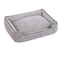 Harper Woven Lounge Pet Bed