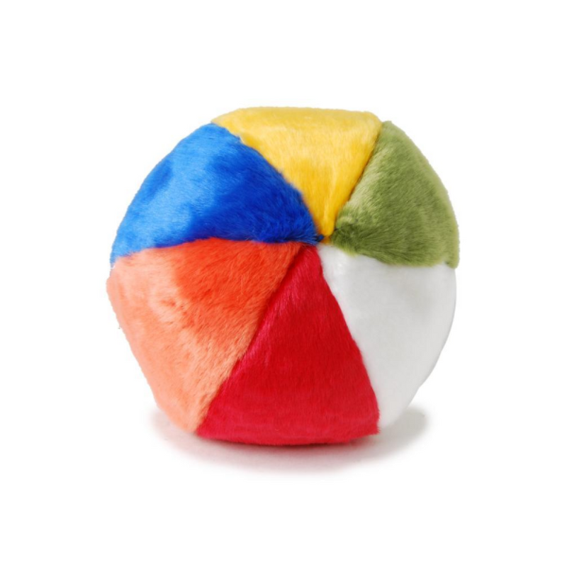 Plush Beach Ball Dog Toy