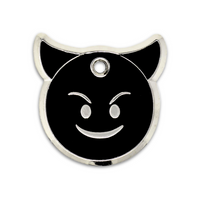 Lil' Devil Engraved Pet Tag