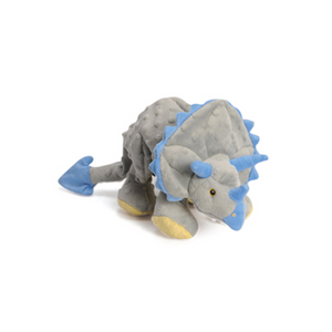 Triceratops Dog Toy with Chew Guard
