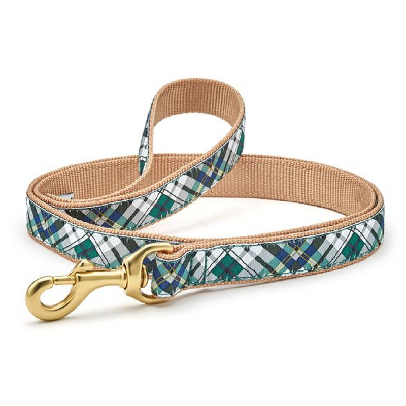 Gordon Plaid Dog Leash