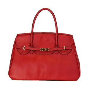 Red Leather Katie Dog Carrier
