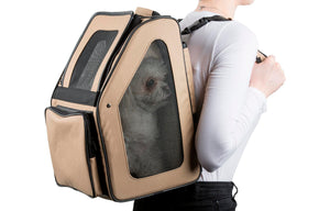 Khaki Rio Wheeled Dog Carrier