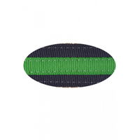 Navy and Green Nate Dog Collar