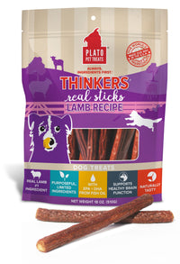Plato Thinkers Meat Treat Sticks for Dogs