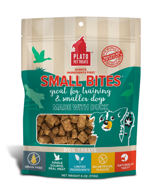 Plato Small Bites Dog Treats