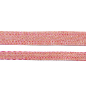 Rose Gold Linen Dog Leash