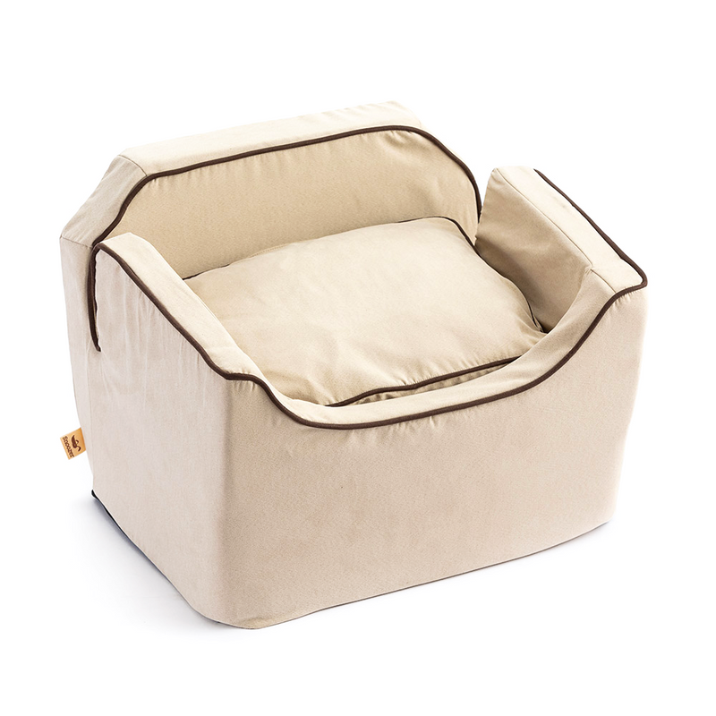 Luxury Microsuede Dog Car Seat