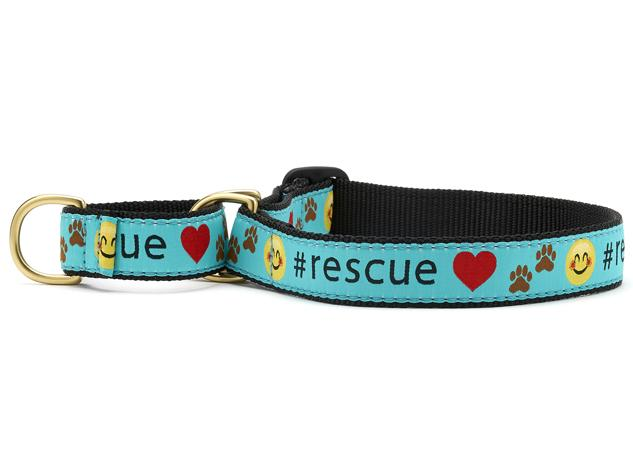 #Rescue Martingale Dog Collar