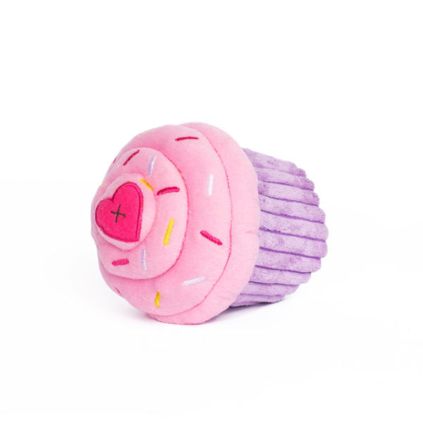 Cupcake Plush Dog Toy