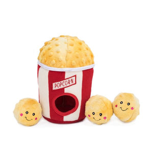 Popcorn Burrow Dog Toy