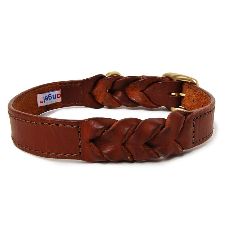 Braided Leather Dog Collar - Muttropolis