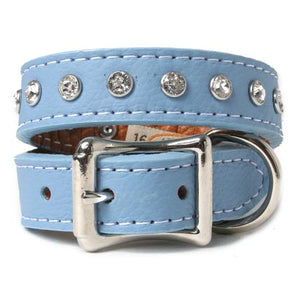 Crystallized Soft Italian Tuscan Leather Collar