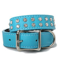 Crystallized Soft Tuscan Italian Leather Collar | BRIGHTS